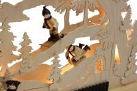 Vorschau: Schwibbogen von Romy Thiel mit dem Motiv Winterlandschaft, 63 cm _Bild5