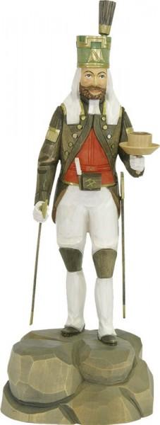 Obersteiger Freiberg, farbig, geschnitzt, in verschiedenen Größen