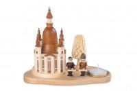 Vorschau: Knuth Neuber, Weihnachtskerzenhalter Frauenkirche mit Striezelkindern_Bild1