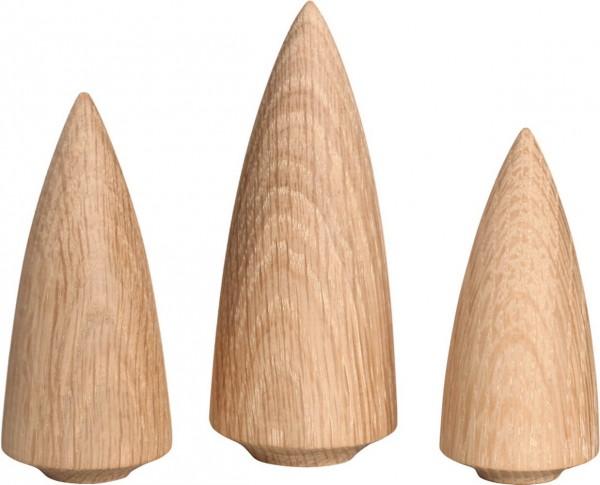 Baumgruppe, 3-teilig von Seiffener Volkskunst eG