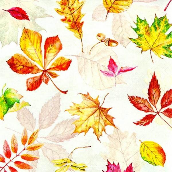 Servietten Scattered Foliage von Home Fashion®