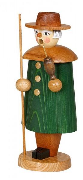 Räuchermännchen Schäfer, grün, 17 cm von Jan Stephani