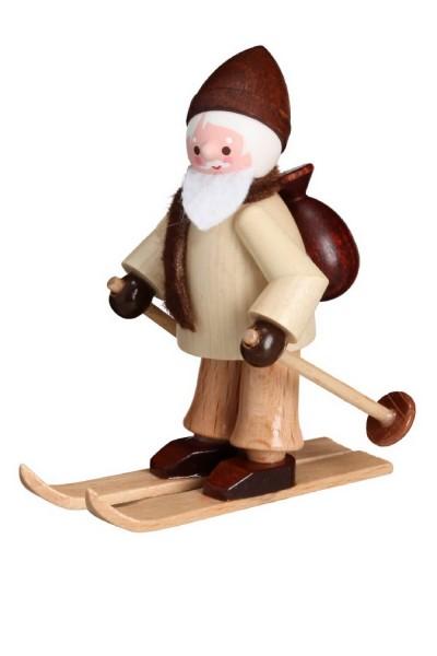 Nikolaus von Romy Thiel auf Ski, mini