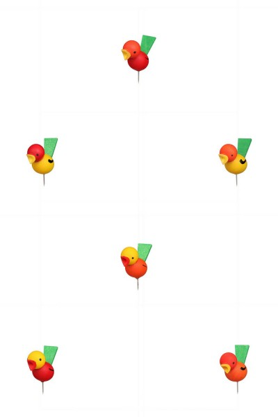 Steckvogel, 12 Stück von Christian Ulbricht