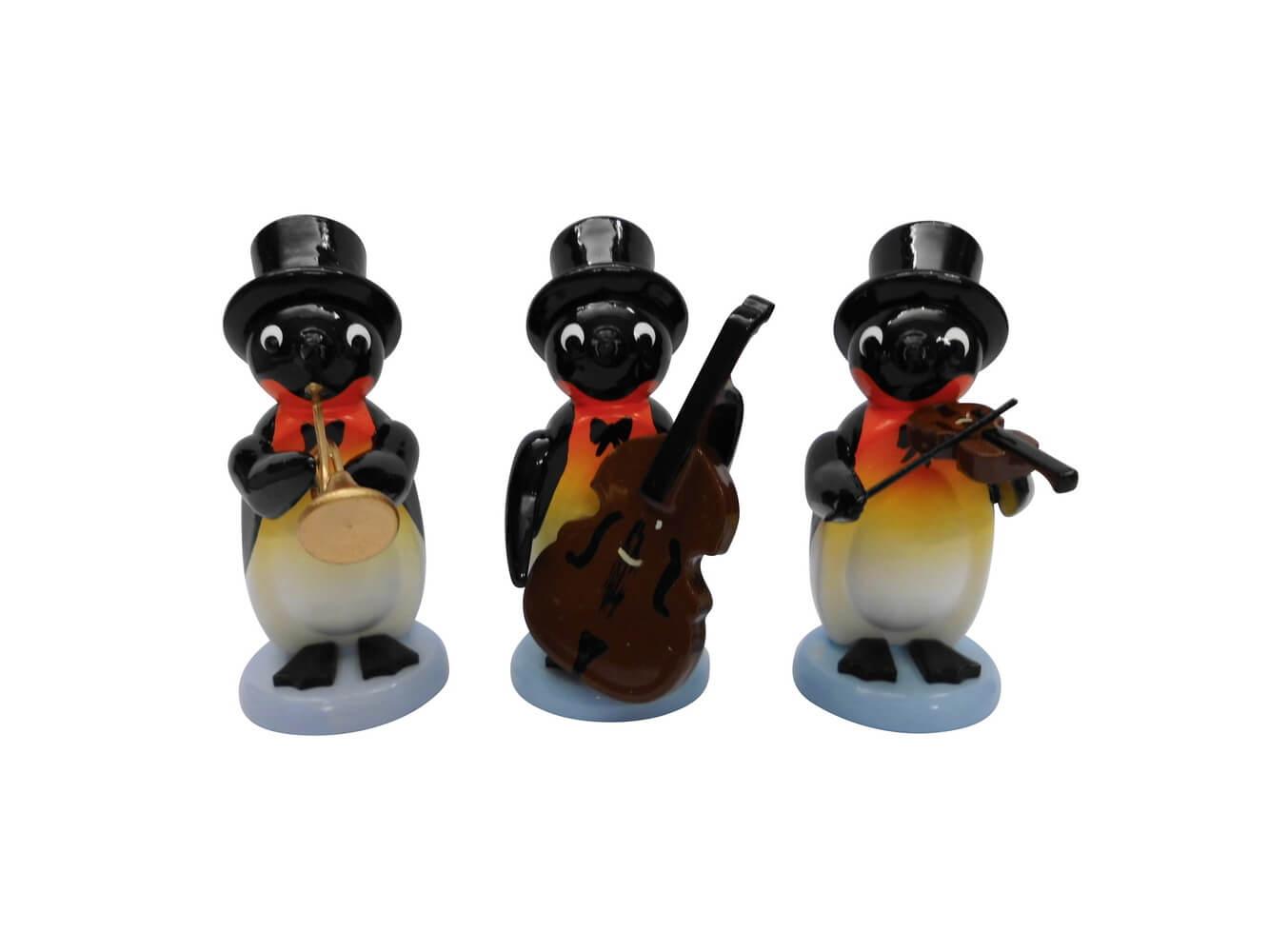 3 teiliges Set, Pinguine - Band von Nestler-Seiffen