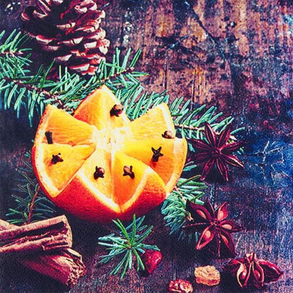 Weihnachtsservietten Christmas Spices von Home Fashion®