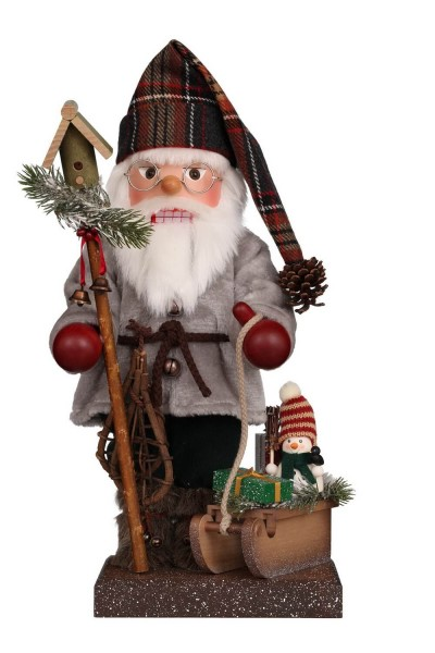 Nussknacker Weihnachtsmann mit Schlitten, 46,0 cm, Christian Ulbricht GmbH & Co KG Seiffen/ Erzgebirge