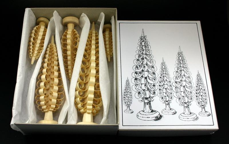 Spanbaumsortiment von Gunter Flath - Spanbäume in verschiedenen Größen