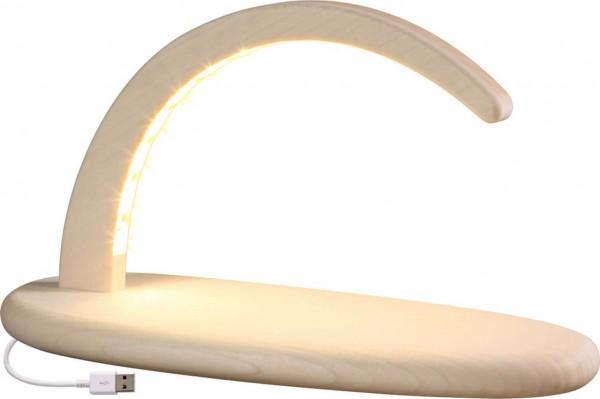 LED Schwibbogen klein, in natur ohne Bestückung mit USB von Seiffener Volkskunst eG Seiffen/ Erzgebirge. Diese modernen Schwibbögen geben Ihren …