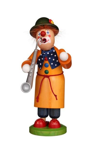 Räuchermännchen Clown, 28 cm von Christian Ulbricht GmbH & Co. KG Seiffen/ Erzgebirge