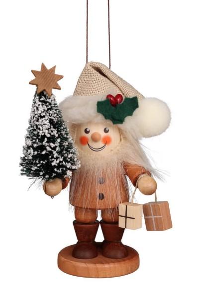Christbaumschmuck Strolch von Christian Ulbricht Weihnachtsmann, natur, 11 cm