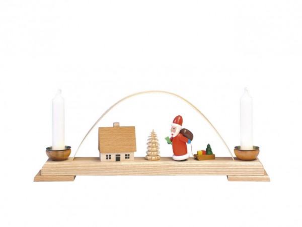 Knuth Neuber, Schwibbogen mit Weihnachtsmann_Bild1