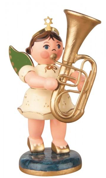 Hubrig Volkskunst Weihnachtsengel mit Tuba