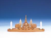 Vorschau: Knuth Neuber, Kerzenhalter Seiffener Kirche mit Kurrende, natur_Bild2
