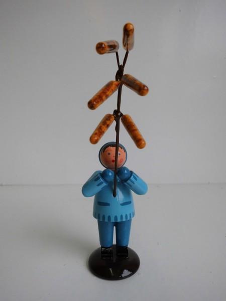 Junge mit Haselzweig von WEHA-Kunst