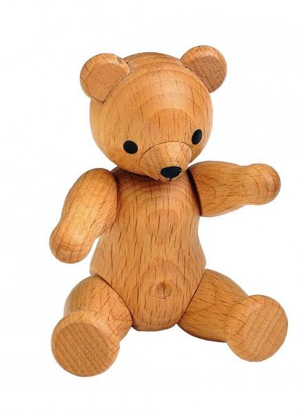 Teddy aus Holz, Holzspielzeug aus Deutschland