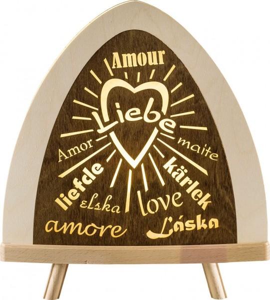Weigla LED Standleuchte Liebe