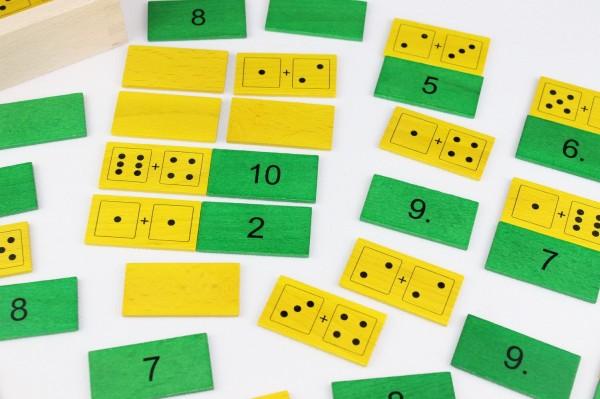 Zahlenmerkfix von Ebert GmbH aus Holz, 42 Teile, farbig - Bild 3