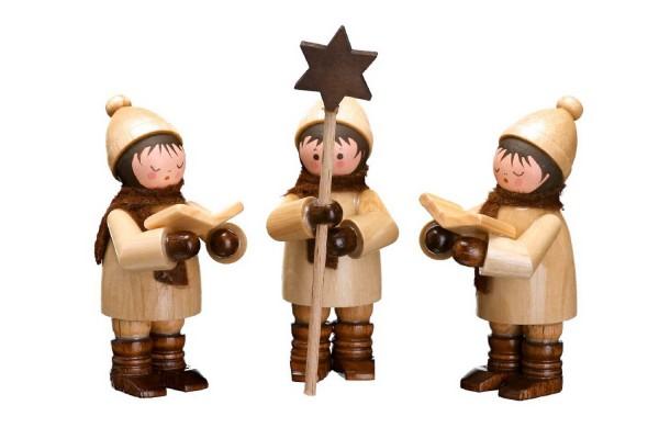 Die Sternsinger, mini von Romy Thiel Deutschneudorf / Erzgebirge, in natur, verkörpern eine der schönsten Traditionen. Das Sternsingen - ein tratitioneller …