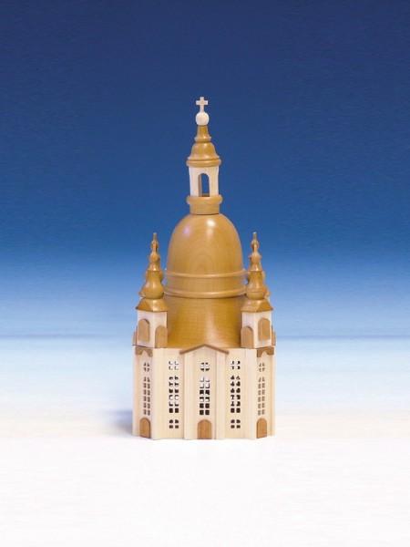 Frauenkirche aus Holz, 20 cm, Knuth Neuber Seiffen/ Erzgebirge