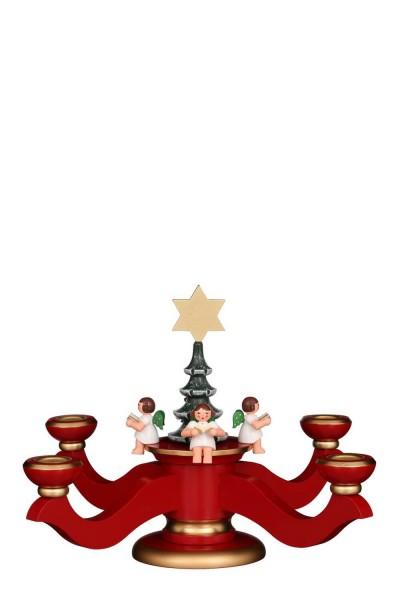 Adventsleuchter, rot, 20 cm von Christian Ulbricht