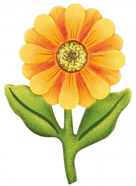 Magnetpin von Hubrig Volkskunst mit dem Motiv Blume Dahlie