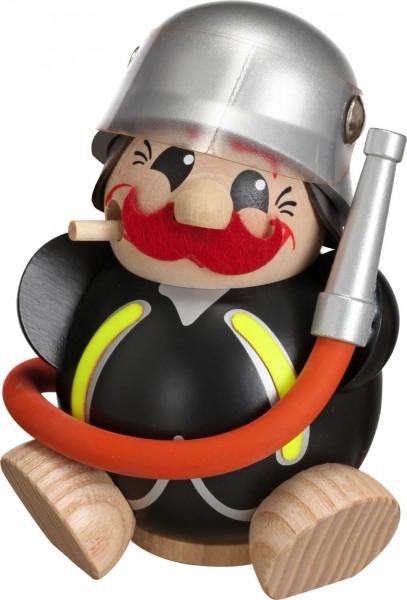 Das Kugelräuchermännchen Feuerwehrmann von Seiffener Volkskunst eGSeiffen/ Erzgebirge. Dieser Räuchermann gehört zur Serie die lustigen …