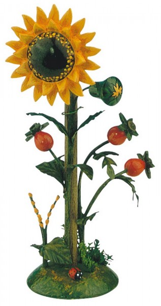 Sonnenblume aus Holz von Hubrig Volkskunst
