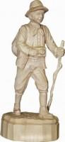 Vorschau: Wanderer, geschnitzt in verschiedenen Größen von Schnitzkunst aus dem Erzgebirge