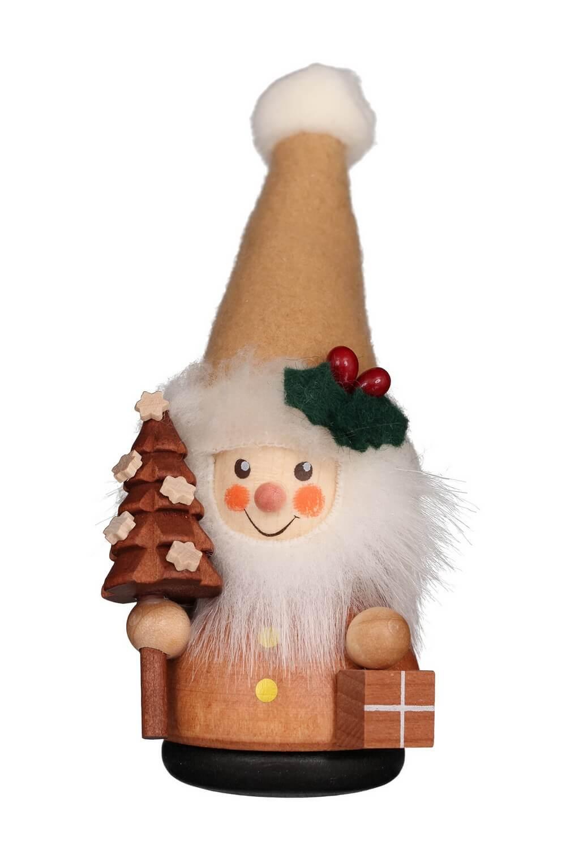Wackelmännchen Weihnachtsmann natur von Christian Ulbricht GmbH & Co KG Seiffen/ Erzgebirge ist 12 cm groß. Mit einem toll geschmückten Weihnachtsbaum und …