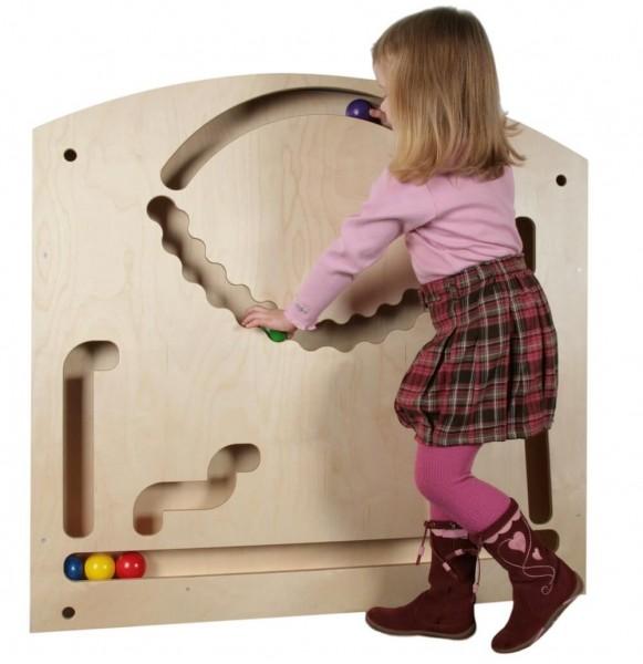 Große Wand-Kugelbahn von SINA Spielzeug_Bild 1