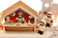 Vorschau: Schwibbogen von Romy Thiel mit dem Motiv Burgweihnacht, 63 cm _Bild6