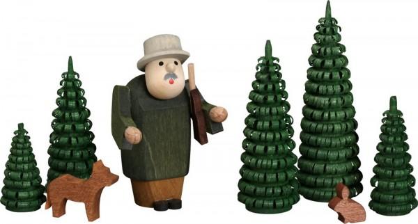 Weihnachtsfiguren Jägergruppe von Seiffener Volkskunst eG