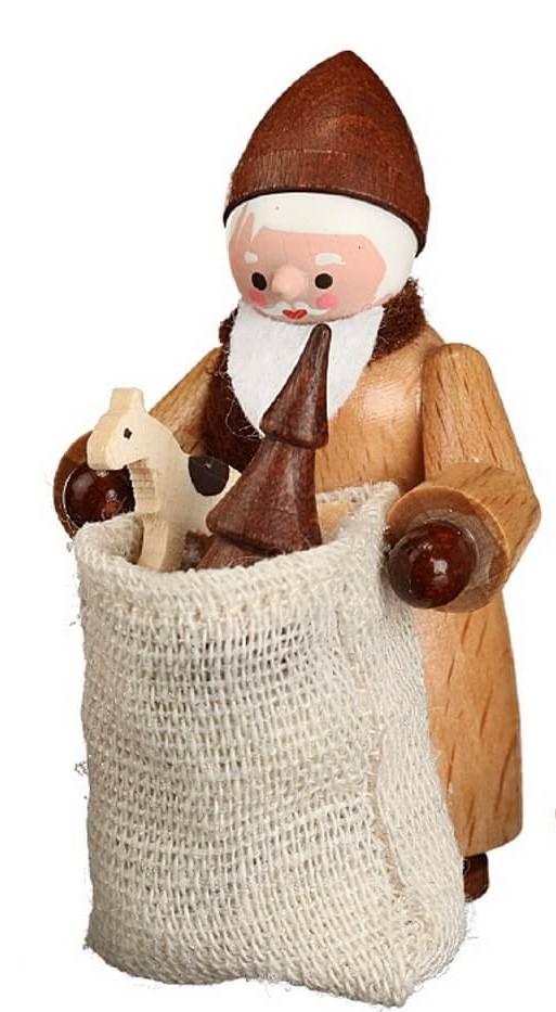 Hurra, Hurra, der Nikolaus mit Sack in natur von Romy Thiel Deutschneudorf/ Erzgebirge, ist da. Er hat wieder die tollsten Sachen mitgebracht. Schaut mal der …