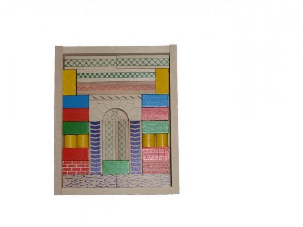 Der Baukasten Junior 6 enthält 48 Bausteine. Mit diesen farblich ganz unterschiedlich gestalteten Bauklötzen lassen richtig tolle Brücken und ähnliche Objekte …