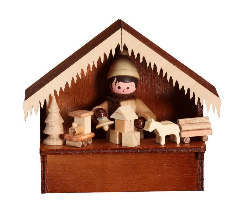 Der Marktstand Spielwaren von Romy Thiel. Marktstände haben nicht nur auf vielen Wochenmärkten Tradiotion. Zur Weihnachtszeit dürfen sie auf keinem …