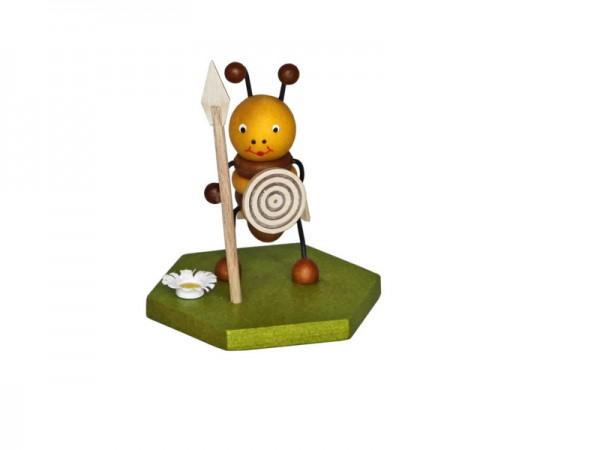 Wächter Biene, 8 cm von Volker Zenker Seiffen/ Erzgebirge