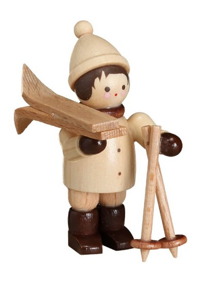 Skiträger, waagerecht, mini von Romy Thiel
