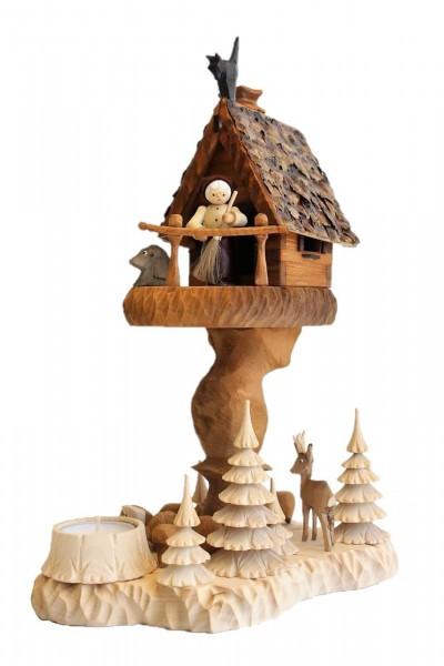 Das Räucherhaus Hexenhaus mit Teelicht und Romy Thiel Figur von Holzdrechslerei A. Lahl Deutschneudorf/ Erzgebirge, ist ein bezauberndes Unikat. Angelehnt an …