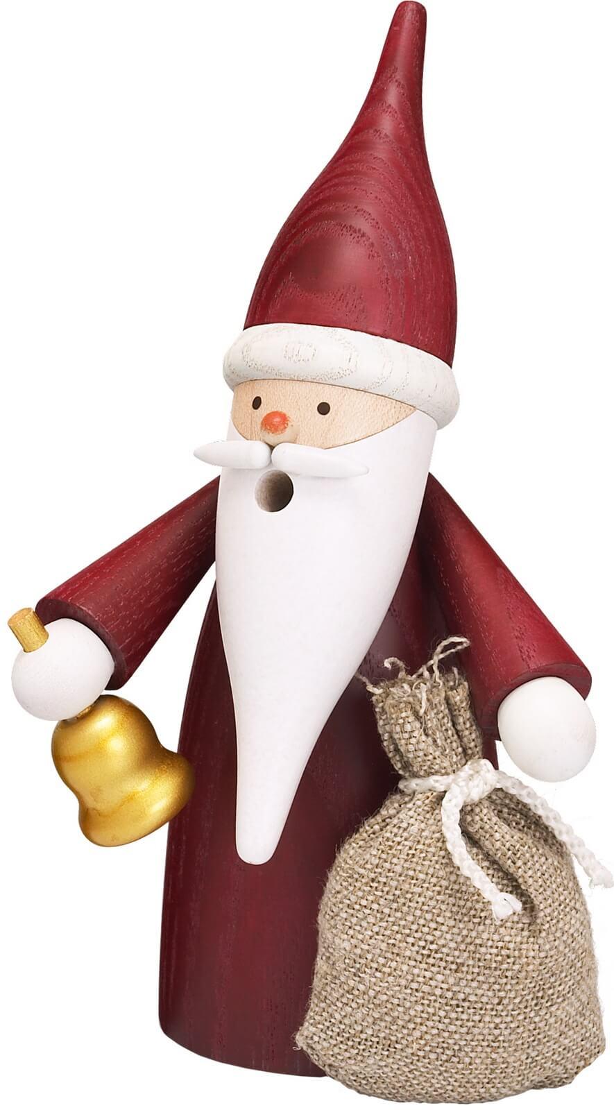 """Der Räuchermann Weihnachtswichtel, 16 cm von Seiffener Volkskunst eG Seiffen/ Erzgebirge. Er gehört zur Räuchermann Serie """"Traditionswichtel"""". …"""