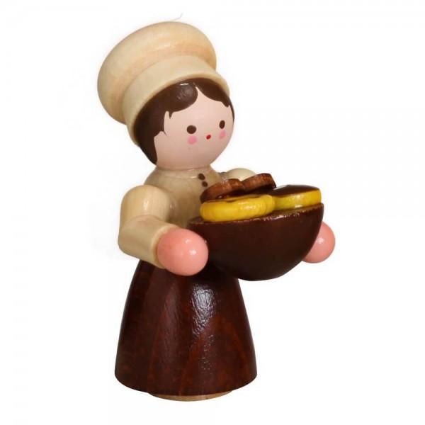 Bäckermädchen von Romy Thiel, mini in natur
