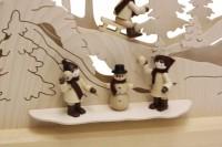 Vorschau: Schwibbogen von Romy Thiel mit dem Motiv Winterlandschaft, 63 cm _Bild7