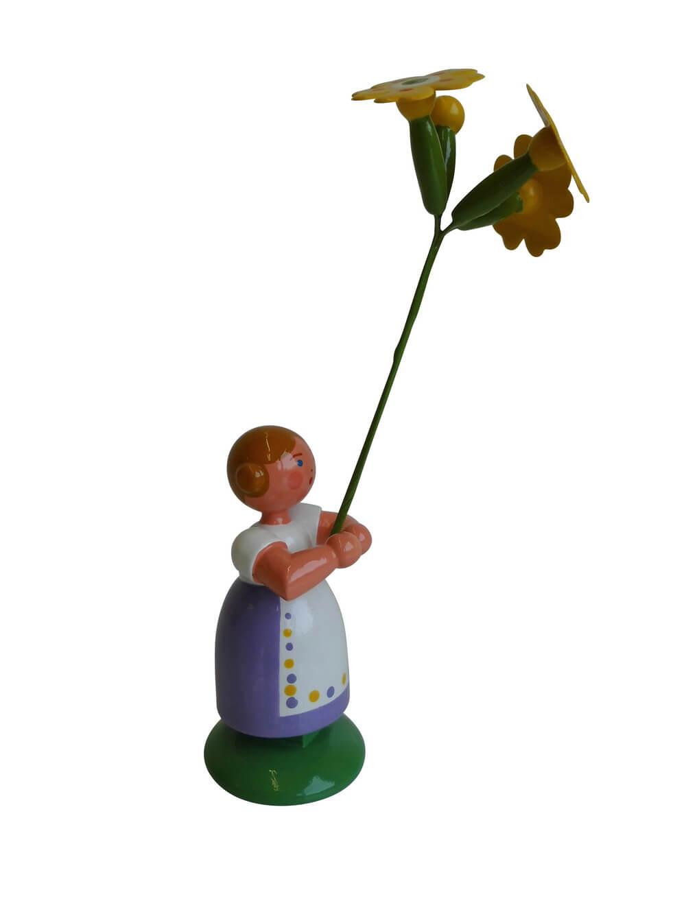 Blumenkind von WEHA-Kunst Mädchen mit Himmelschlüsselchen_Bild1
