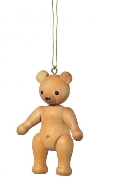 KWO Christbaumschmuck Teddy, stehend zum Hängen für den Weihnachtsbaum