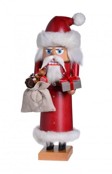 Darf ich vorstellen: Der Nussknacker Weihnachtsmann, 29 cm von KWO Olbernhau/ Erzgebirge