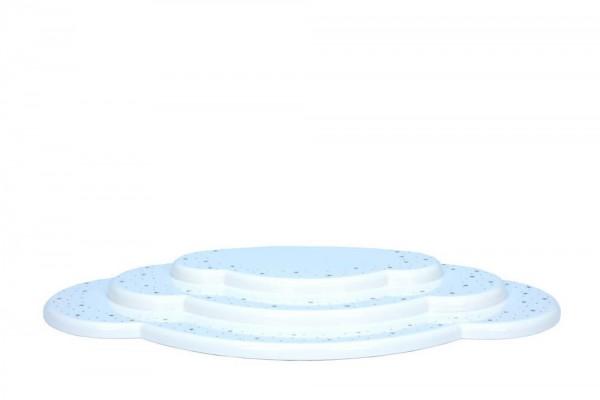 Wolke für Weihnachtsengel, weiß, 3 - teilig, 37 cm von Christian Ulbricht GmbH & Co KG Seiffen/ Erzgebirge