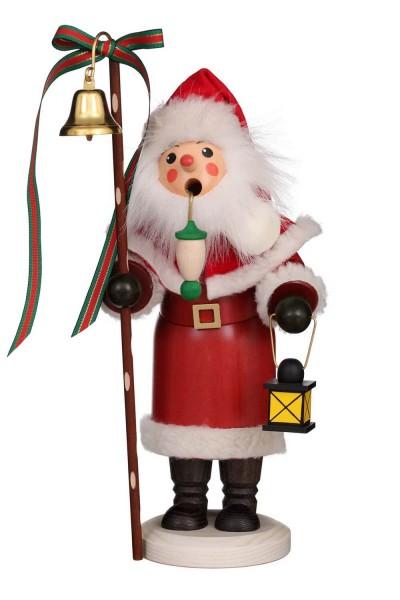 Räuchermännchen Weihnachtsmann mit Laterne, 31 cm von Christian Ulbricht GmbH & Co KG Seiffen/ Erzgebirge