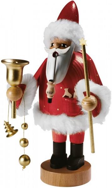 Räuchermännchen Santa Claus, 18 cm von KWO Kunstgewerbe-Werkstätten Olbernhau/ Erzgebirge