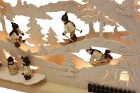 Vorschau: Schwibbogen von Romy Thiel mit dem Motiv Winterlandschaft, 63 cm _Bild3