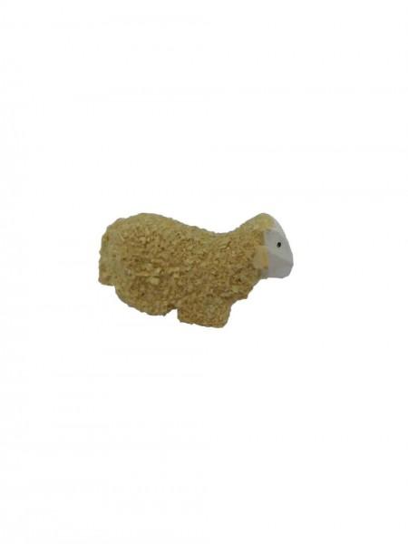 Schaf, liegend 3 cm von Nestler-Seiffen